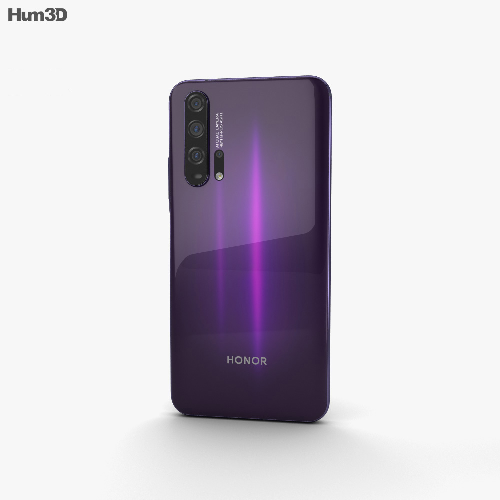 Honor 20 Pro Phantom Black 3d model