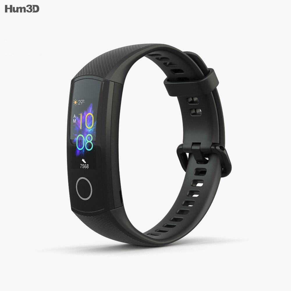 Honor Band 5 Black 3d model