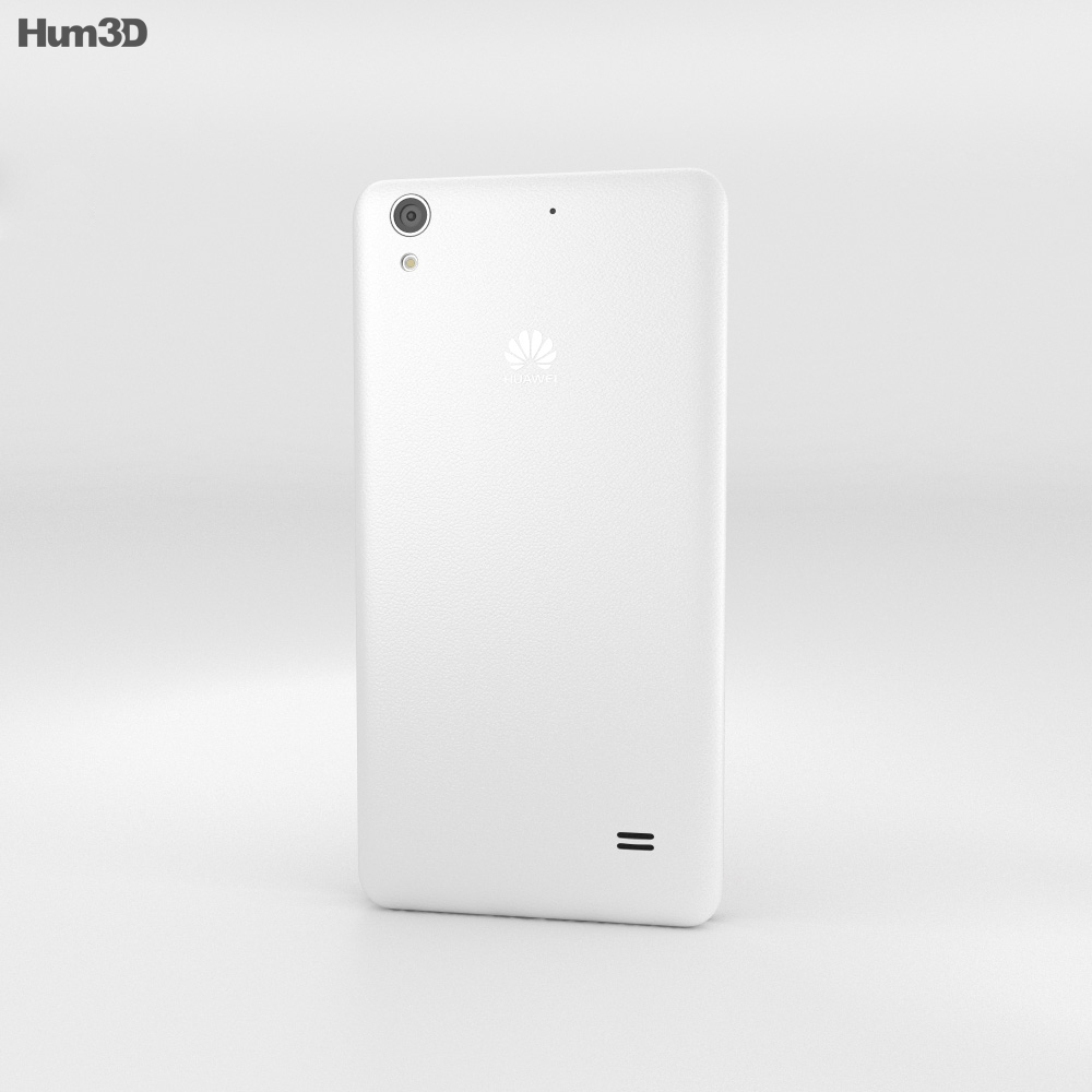 Huawei Ascend G620S White 3d model