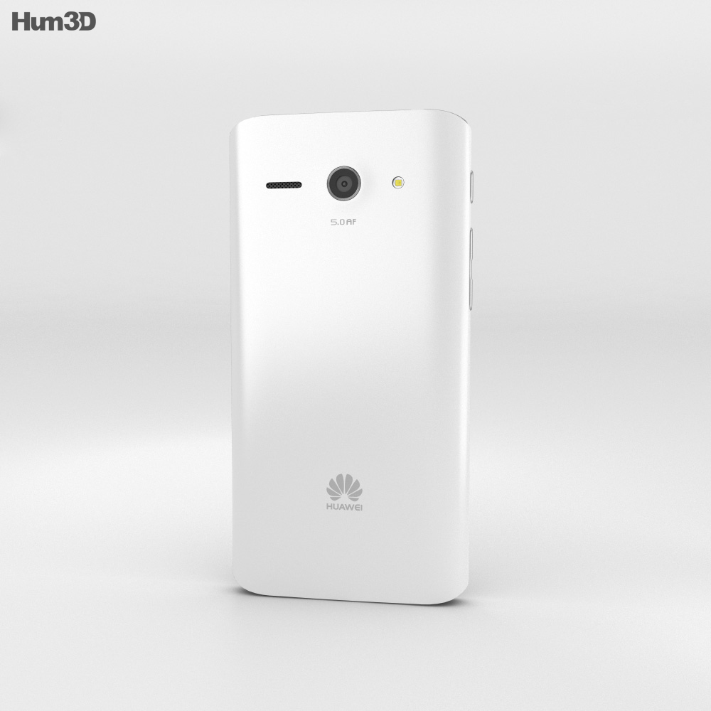 Huawei Ascend Y530 White 3d model