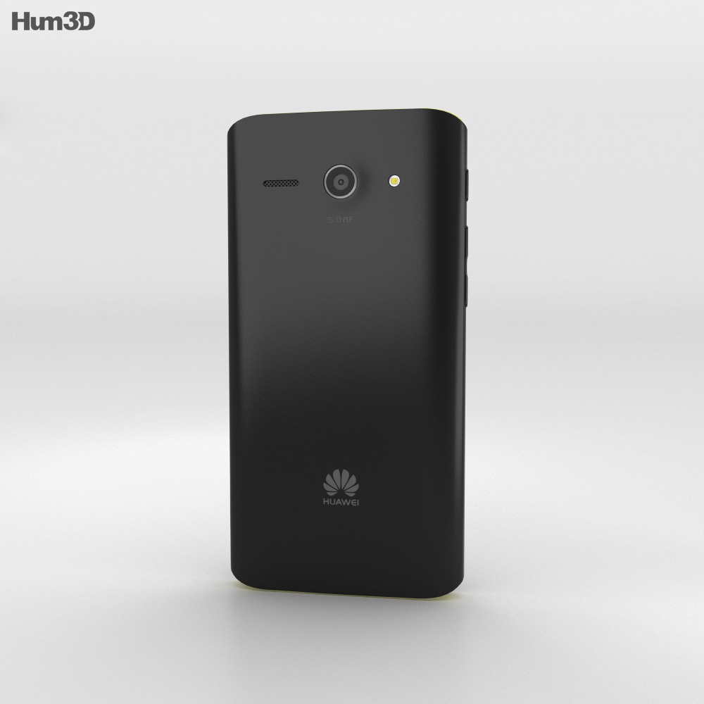 Huawei Ascend Y530 Yellow 3d model
