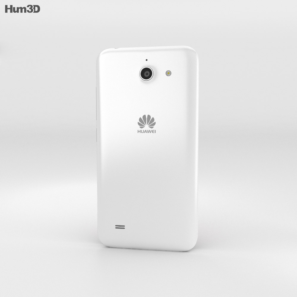 Huawei Ascend Y550 White 3d model