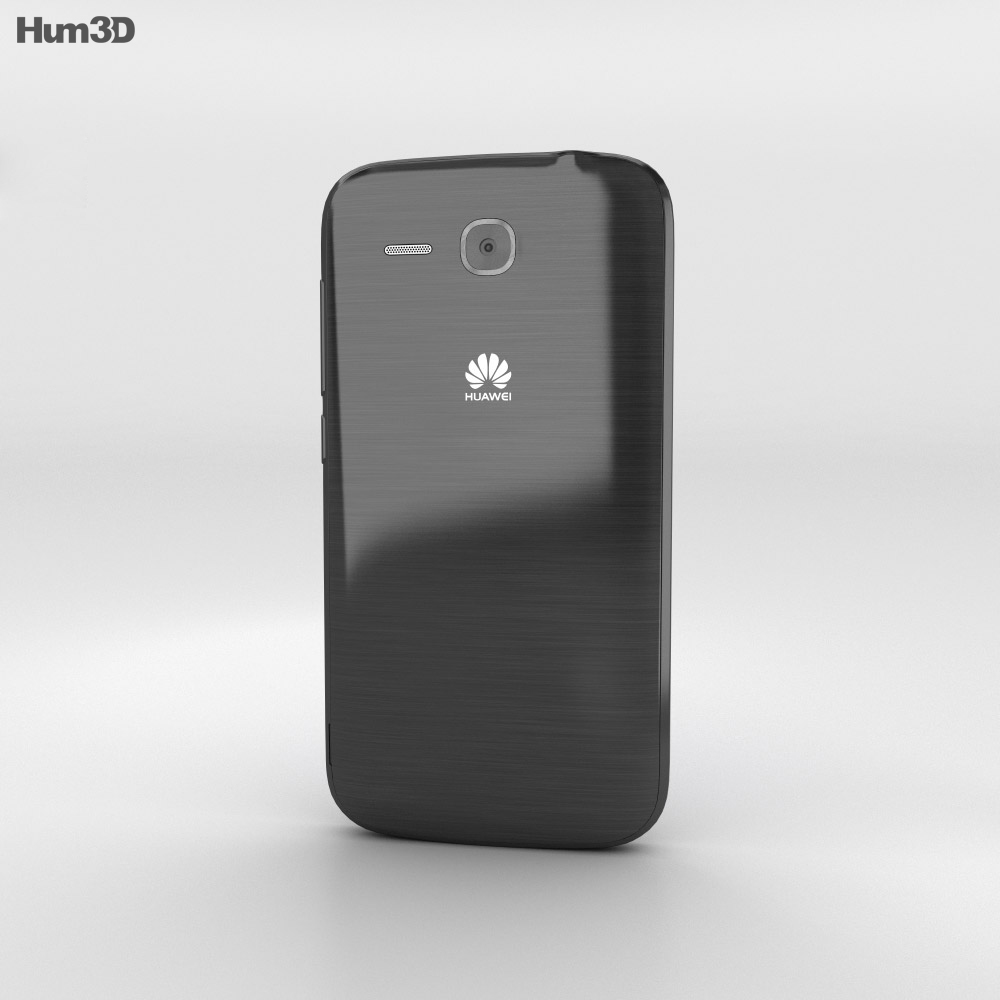 Huawei Ascend Y600 Black 3d model