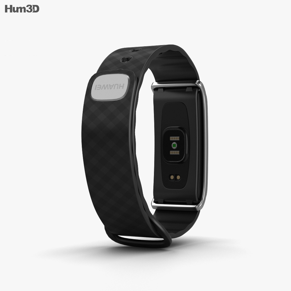 Huawei Color Band A2 Black 3d model