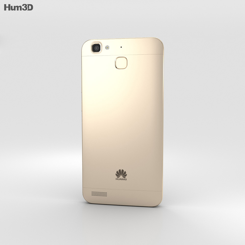 Huawei Enjoy 5S Gold 3d model