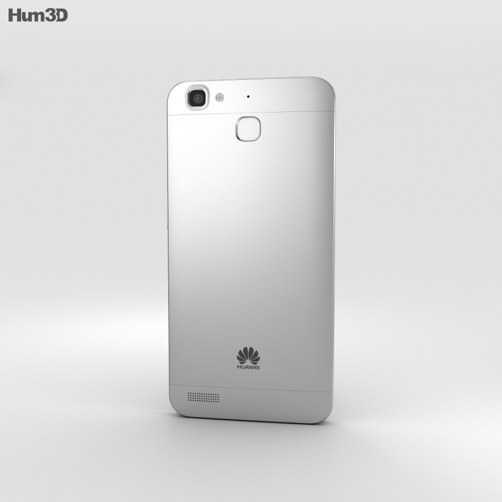 Huawei Enjoy 5S Silver 3d model