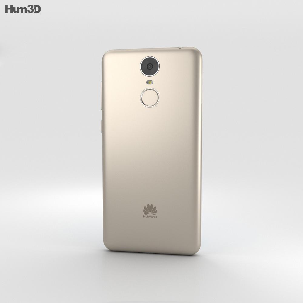 Huawei Enjoy 6 Gold 3d model