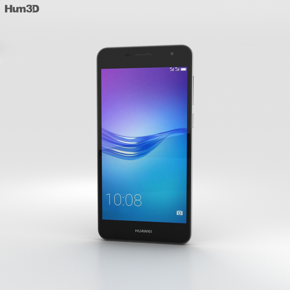 Huawei Enjoy 6 Gray 3d model