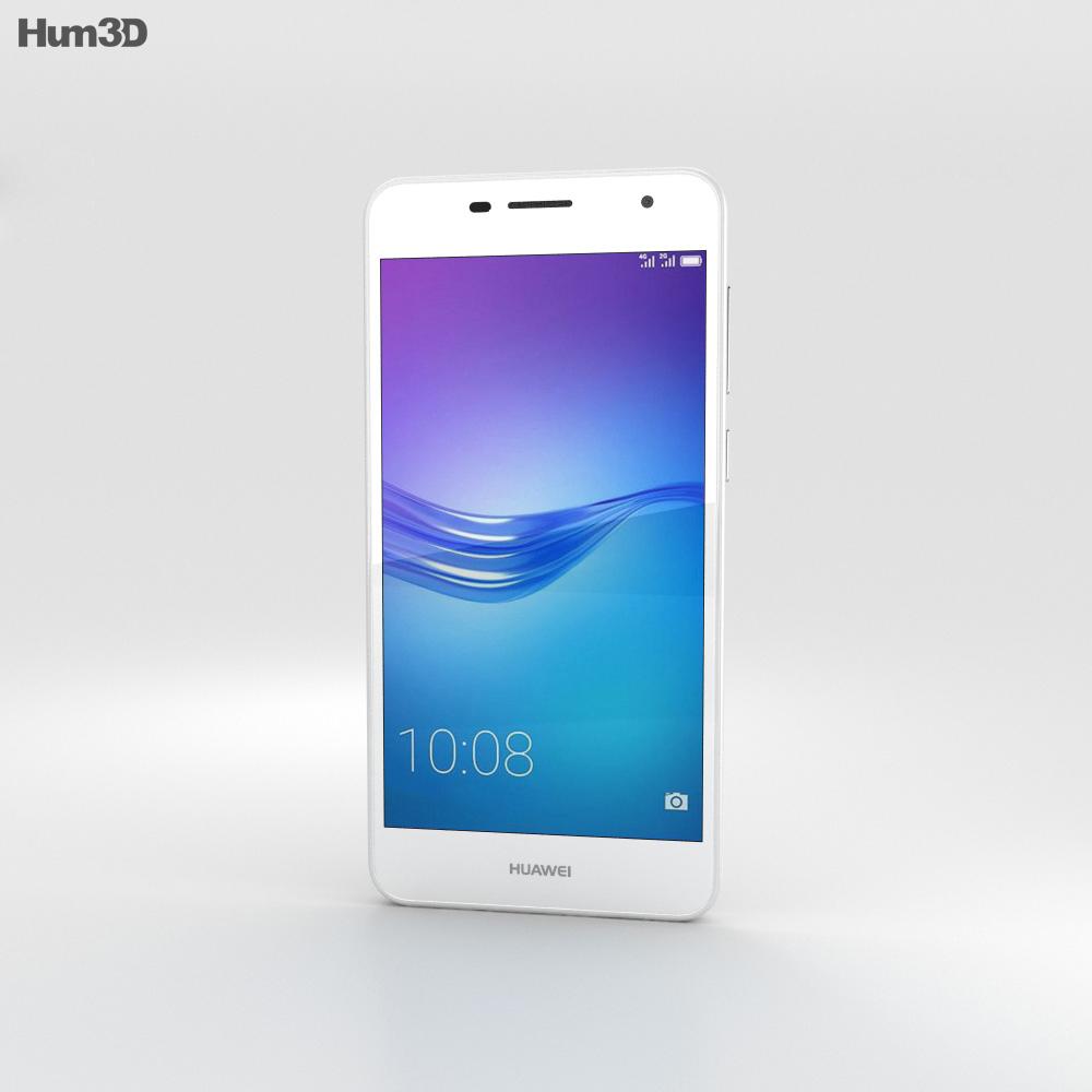 Huawei Enjoy 6 White 3d model