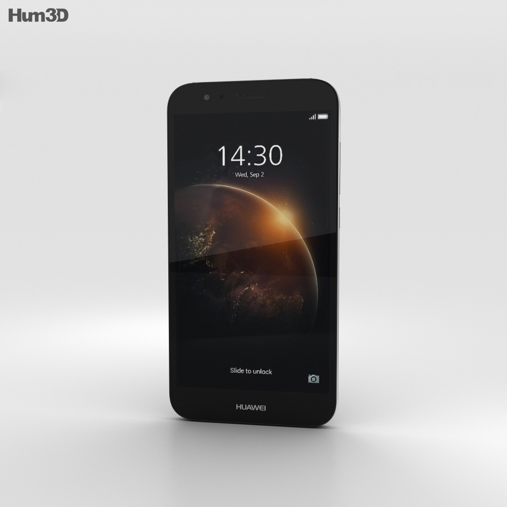 Huawei G8 Black 3d model