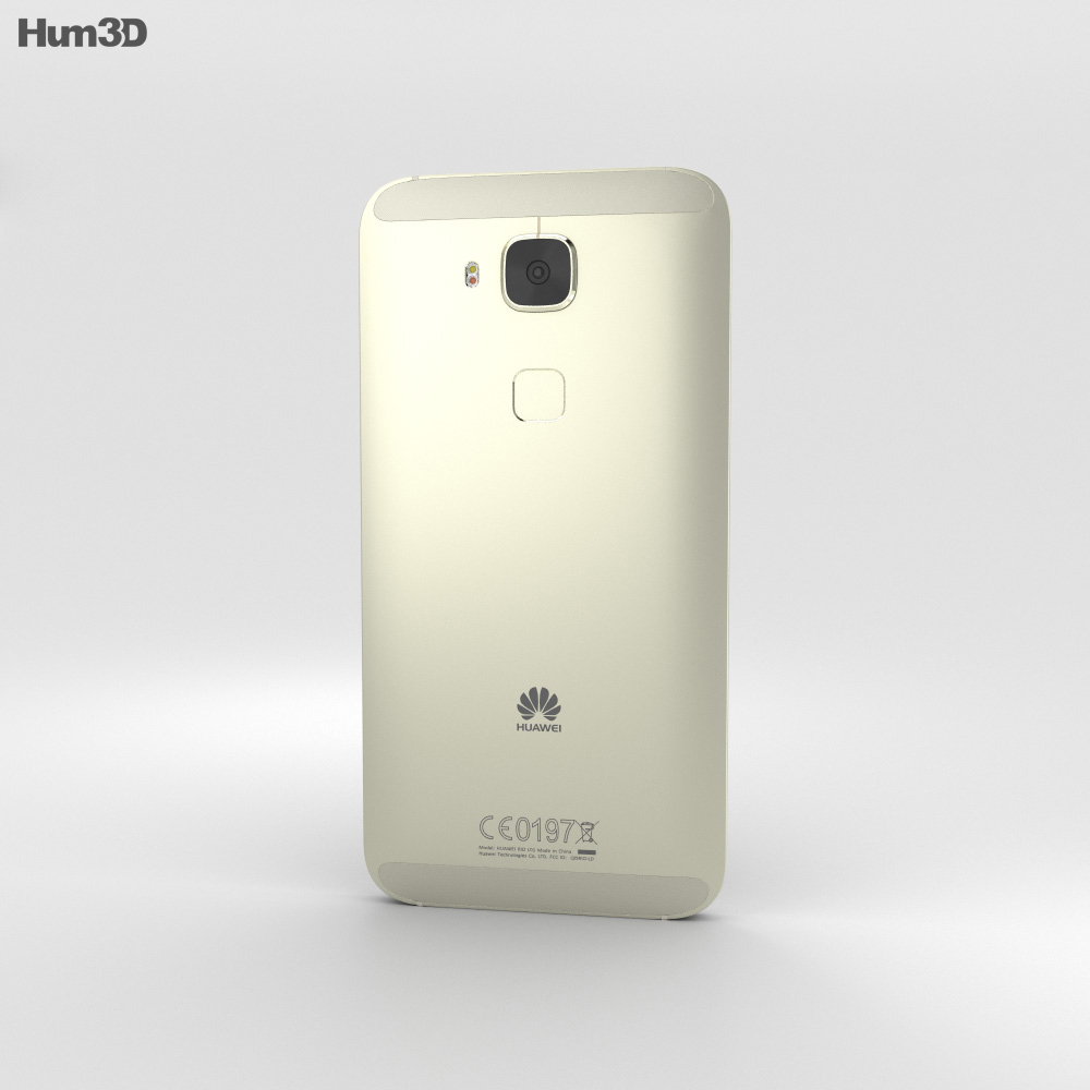 Huawei G8 White 3d model