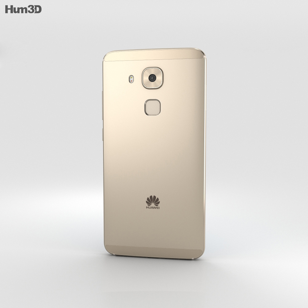 Huawei G9 Plus Champagne 3d model