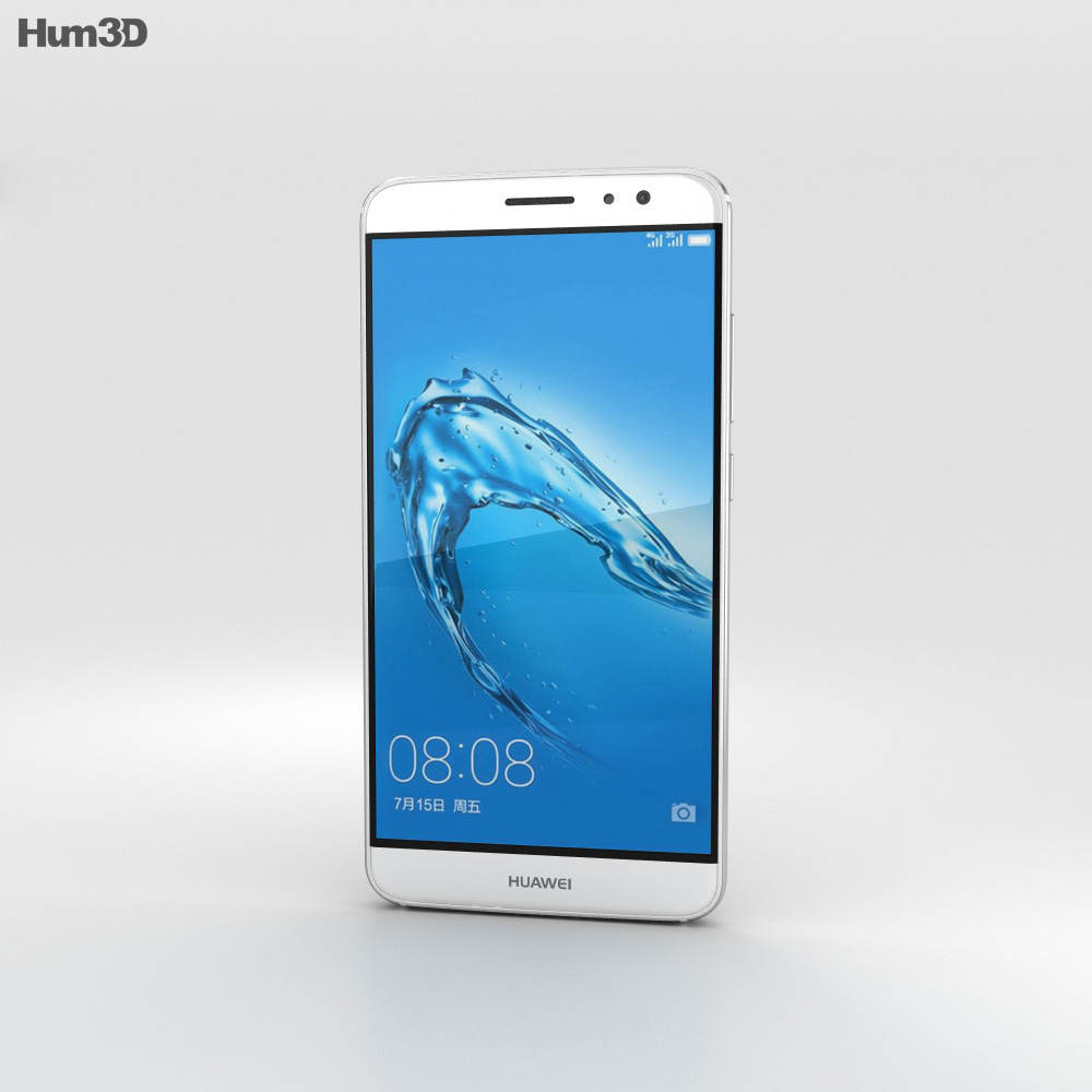 Huawei G9 Plus Silver 3d model