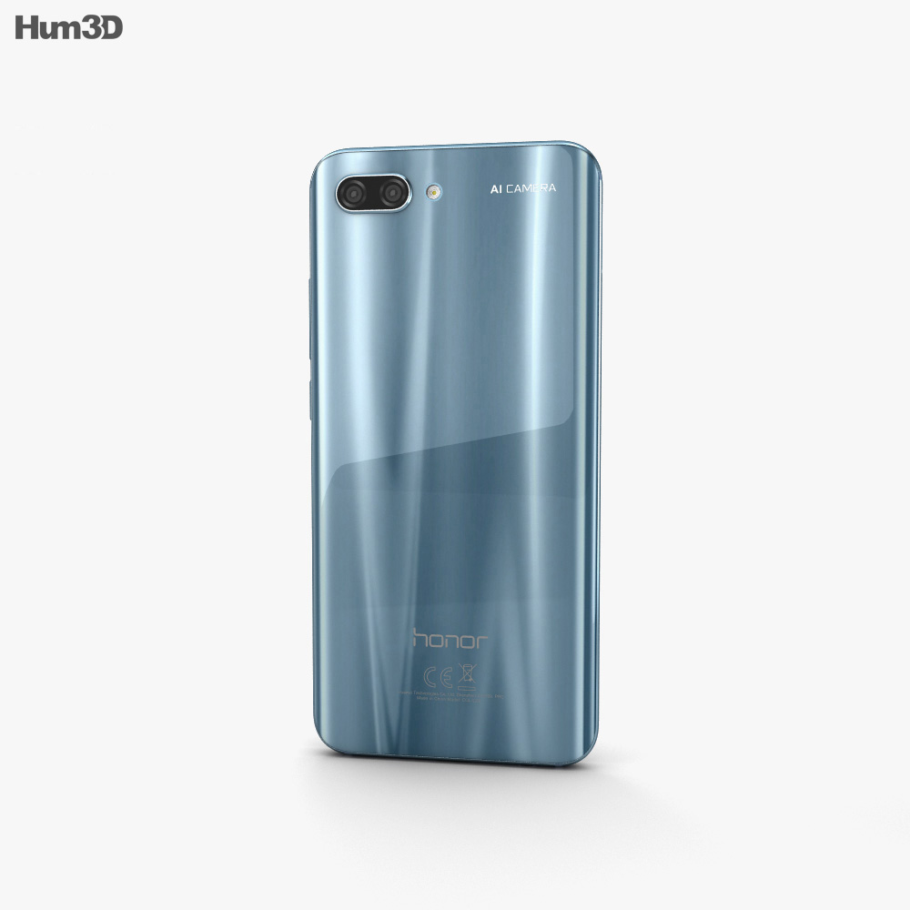Huawei Honor 10 Glacier Grey 3d model