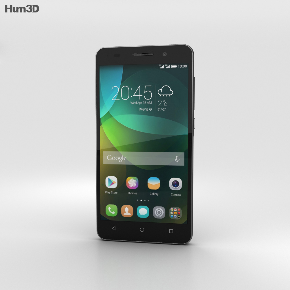 Huawei Honor 4C Black 3d model