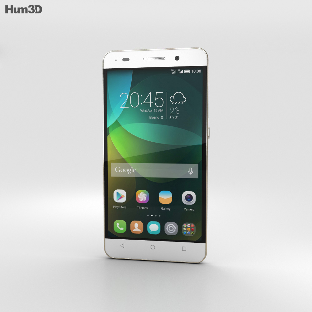 Huawei Honor 4C White 3d model