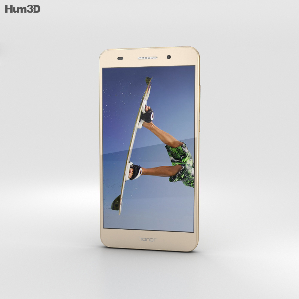 Huawei Honor 5A Gold 3d model