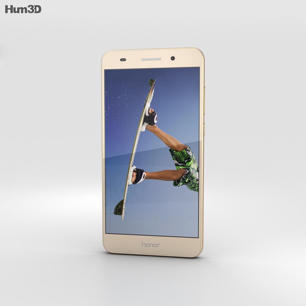 Huawei Honor 5A Gold 3d model