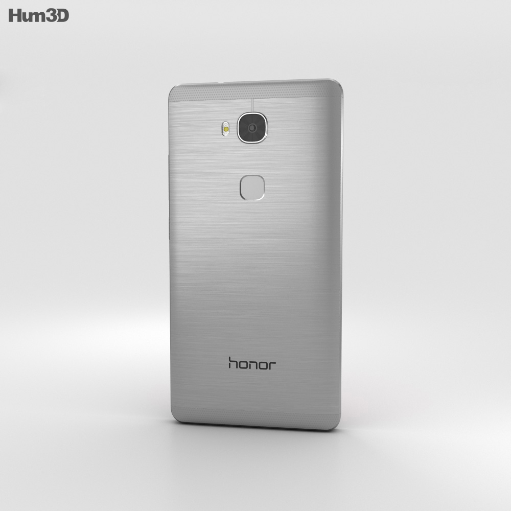 Huawei Honor 5X Gray 3d model
