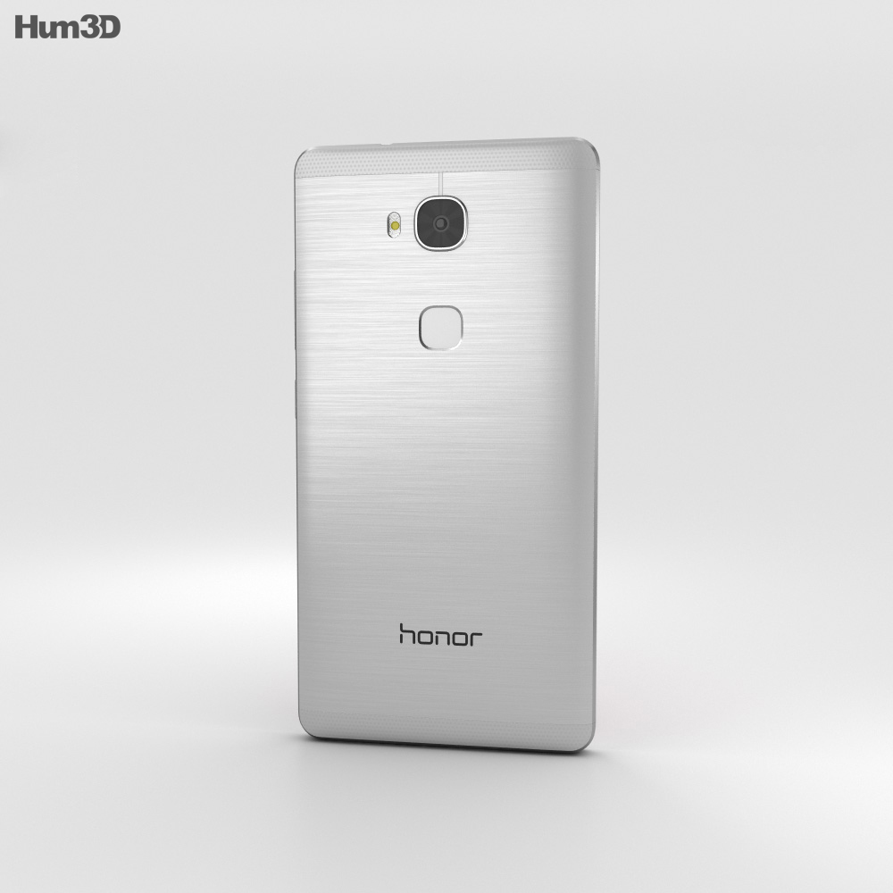 Huawei Honor 5X Silver 3d model