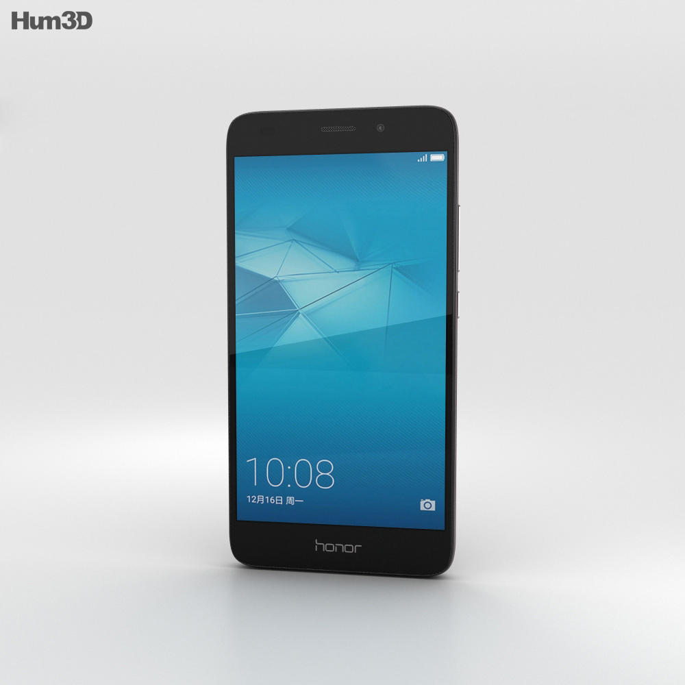 Huawei Honor 5c Black 3d model