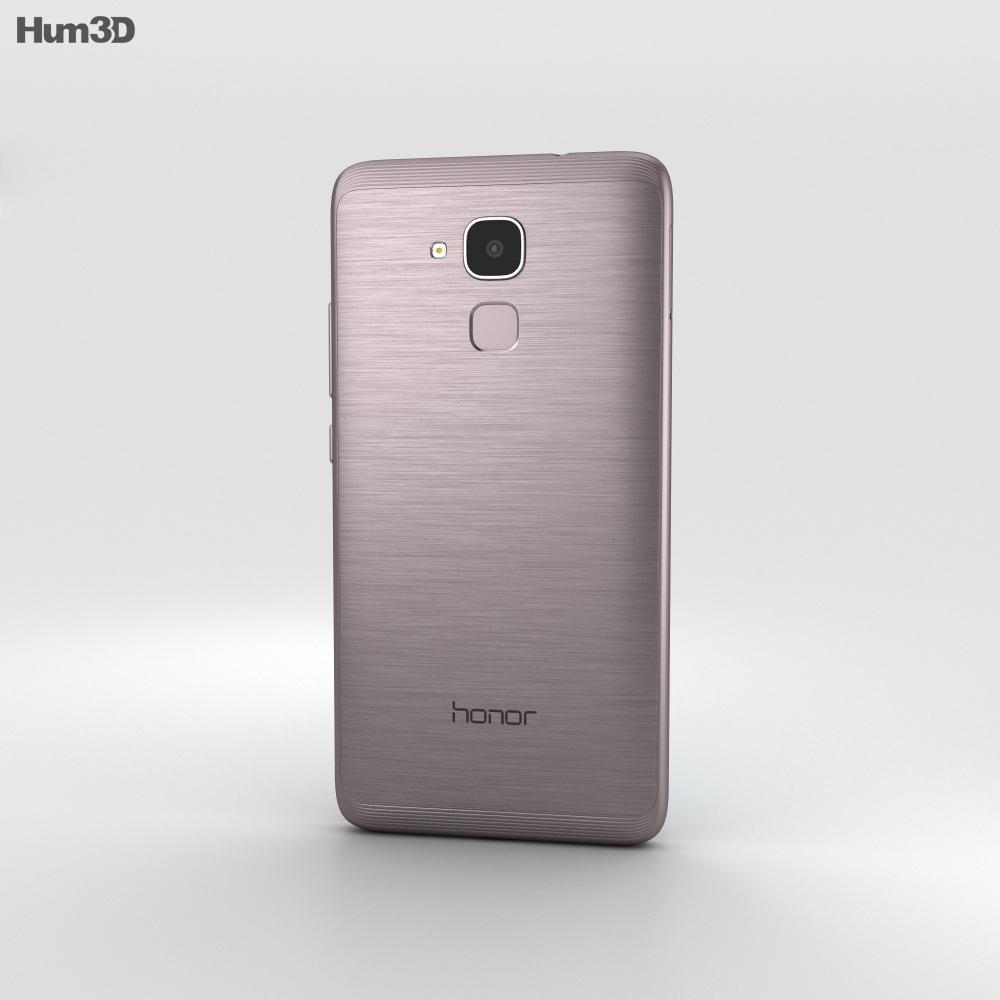 Huawei Honor 5c Black 3d model