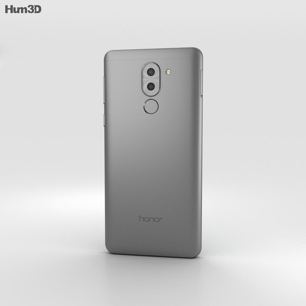 Huawei Honor 6x Gray 3d model