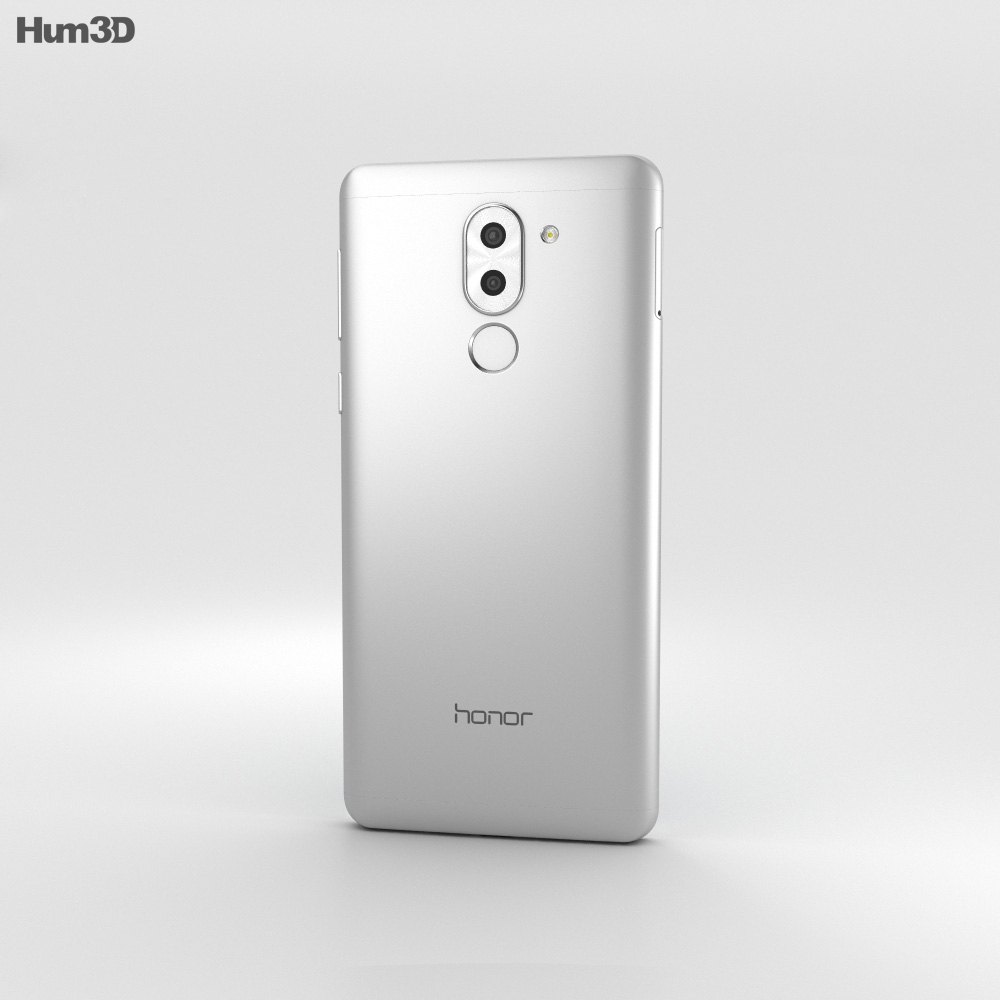 Huawei Honor 6x Silver 3d model