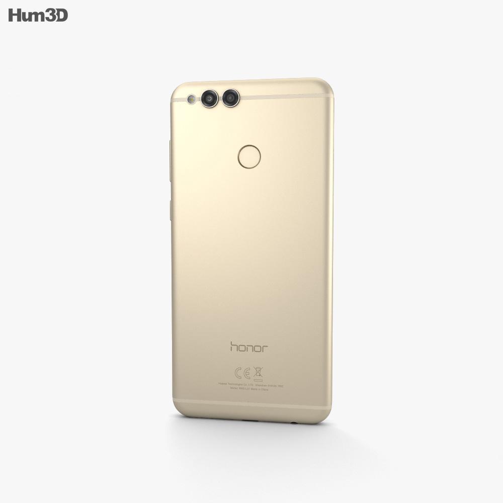 Huawei Honor 7X Gold 3d model