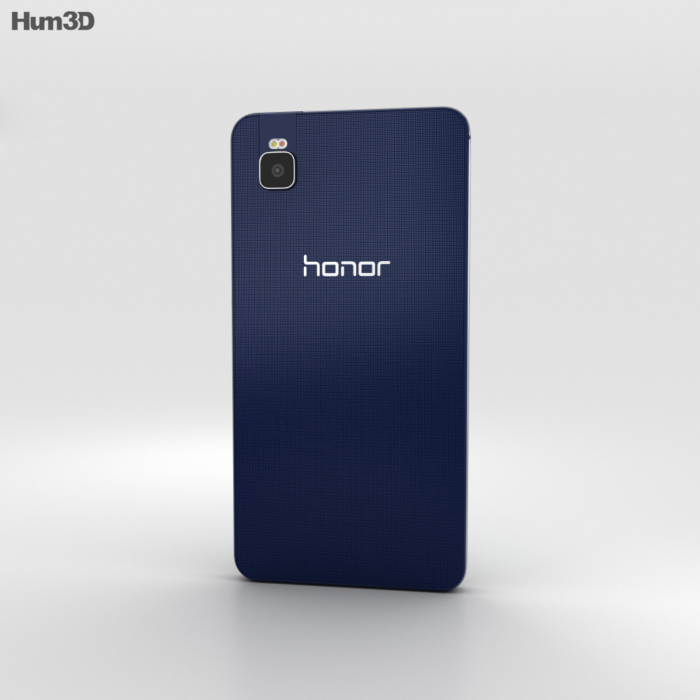 Huawei Honor 7i Black 3d model
