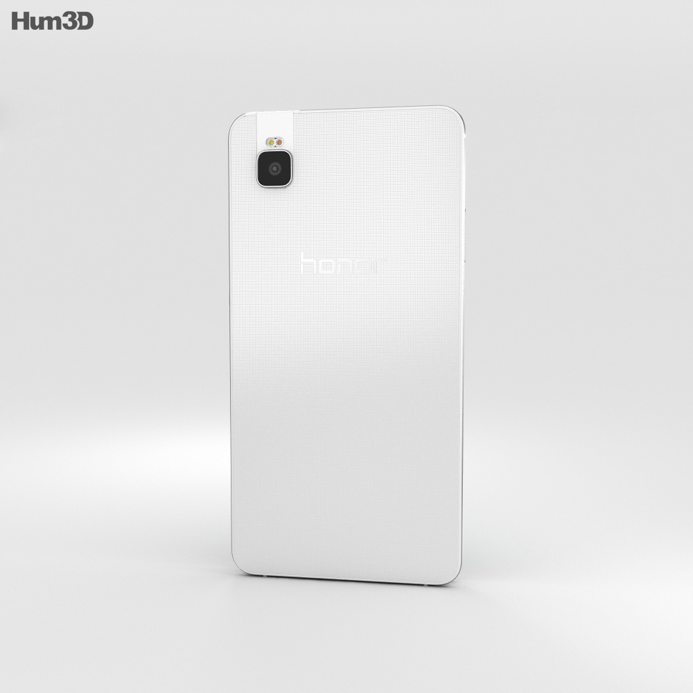 Huawei Honor 7i White 3d model
