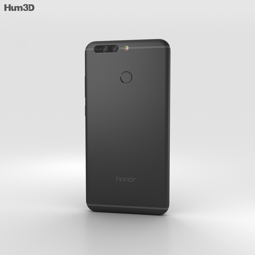 Huawei Honor 8 Pro Black 3d model