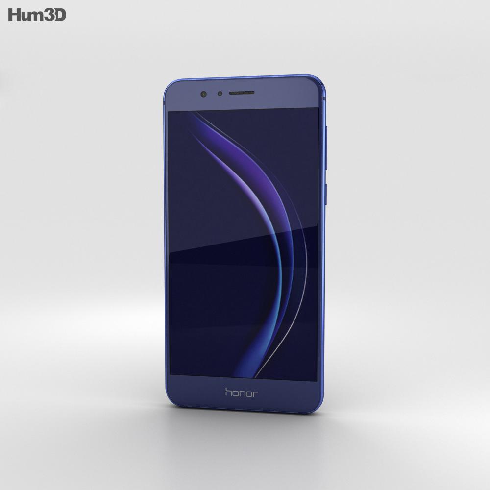 Huawei Honor 8 Sapphire Blue 3d model
