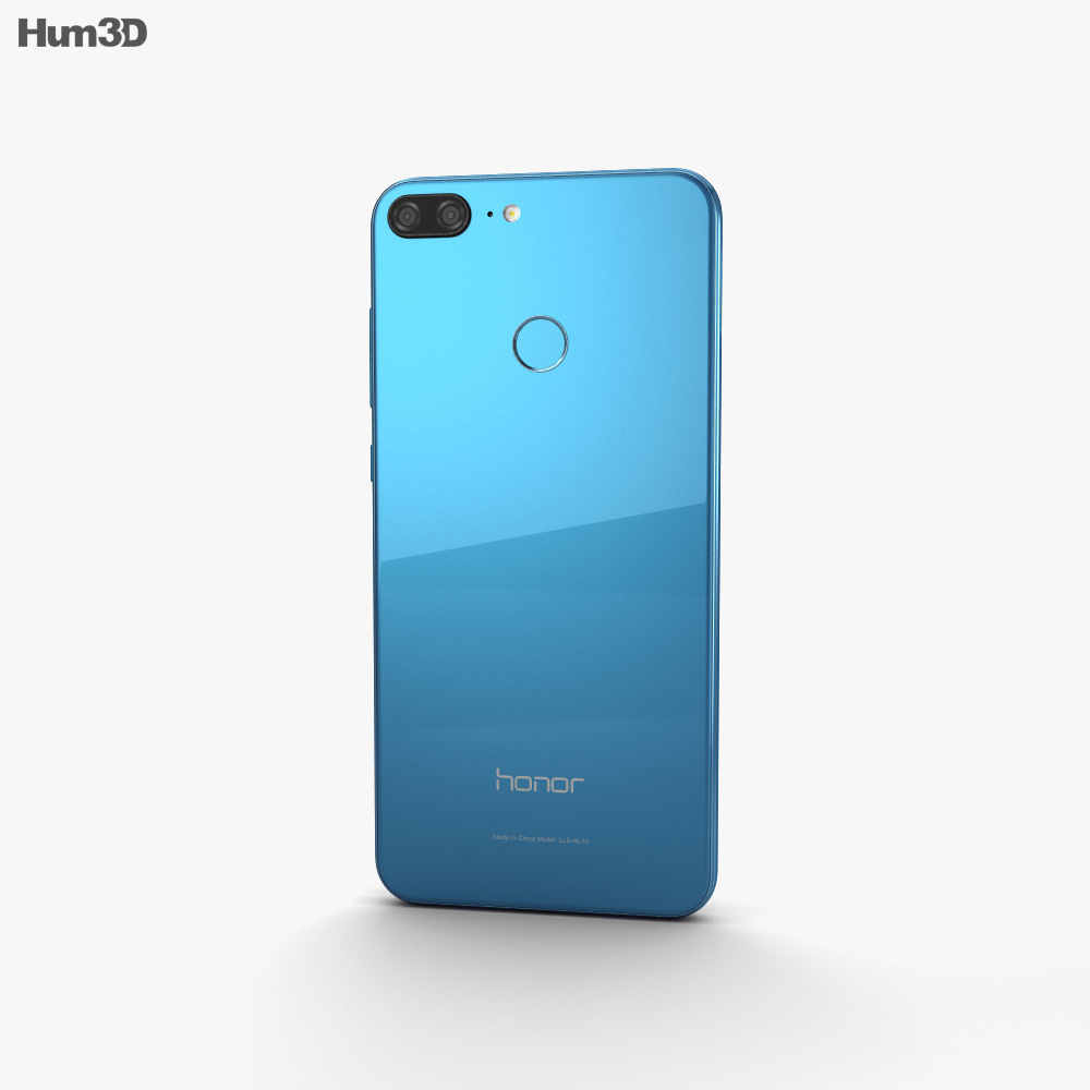 Huawei Honor 9 Lite Blue 3d model