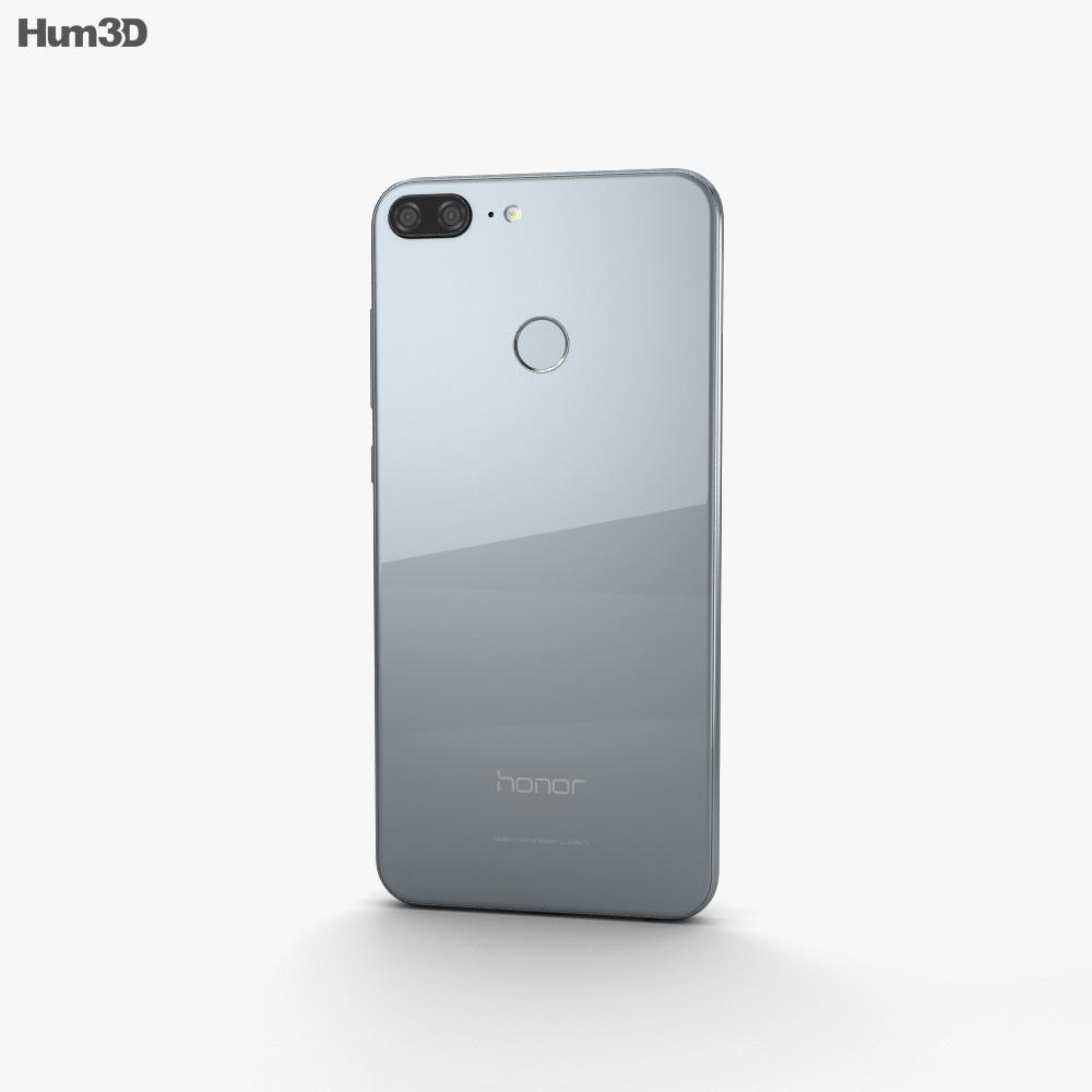 Huawei Honor 9 Lite Gray 3d model