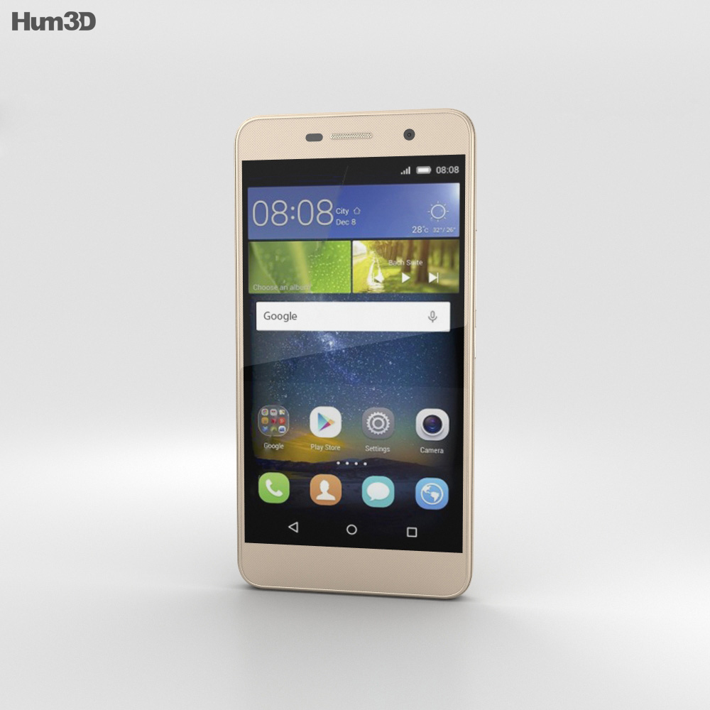 Huawei Honor Holly 2 Plus Gold 3d model