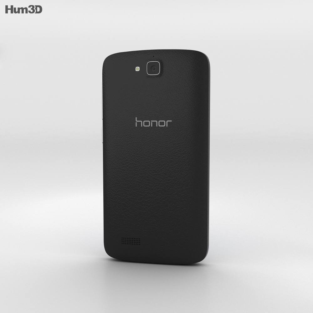 Huawei Honor Holly Black 3d model