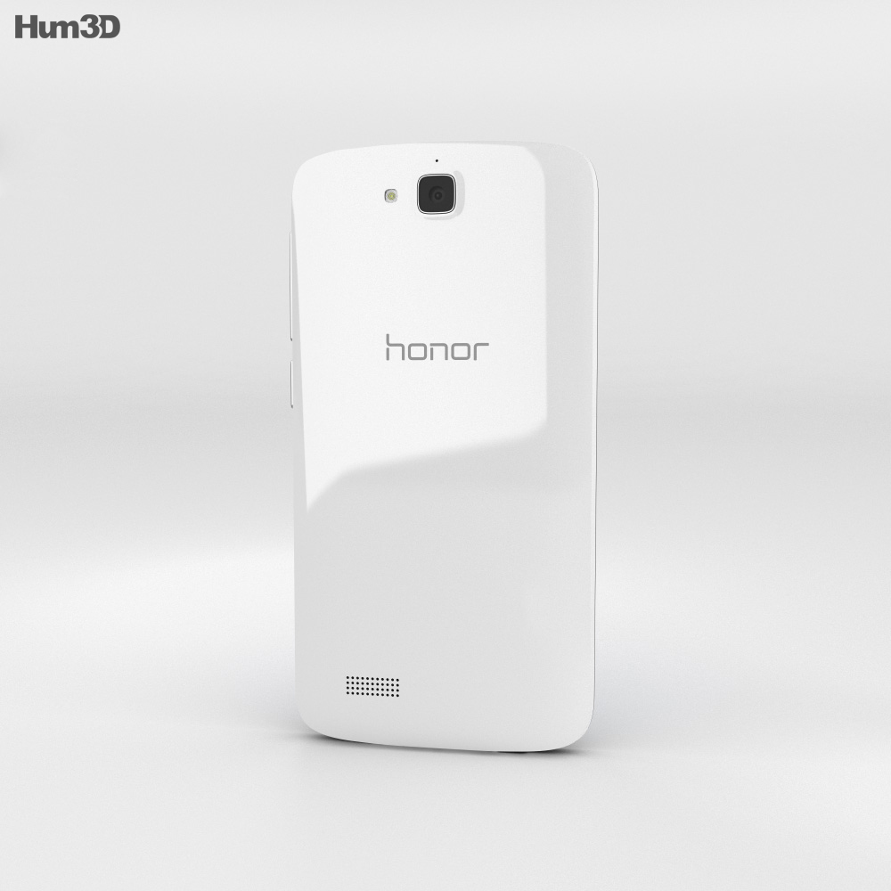 Huawei Honor Holly White 3d model