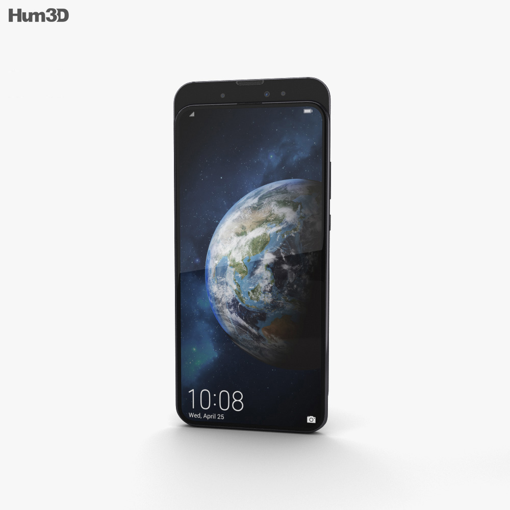 Honor Magic 2 Gradient Black 3d model