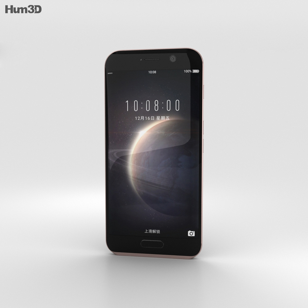 Huawei Honor Magic Golden Black 3d model