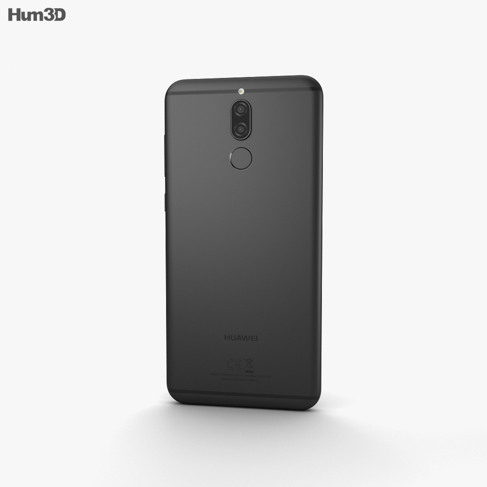 Huawei Mate 10 Lite Graphite Black 3d model