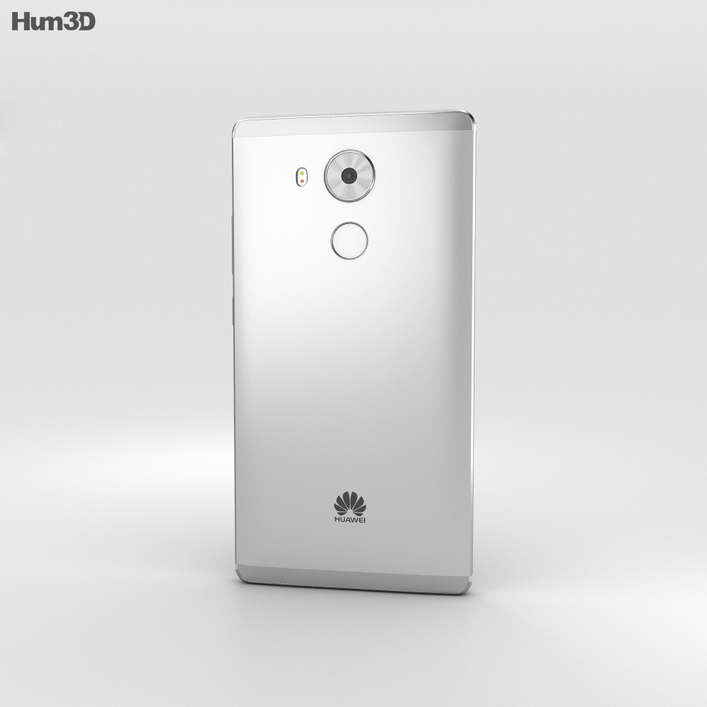 Huawei Mate 8 Moonlight Silver 3d model