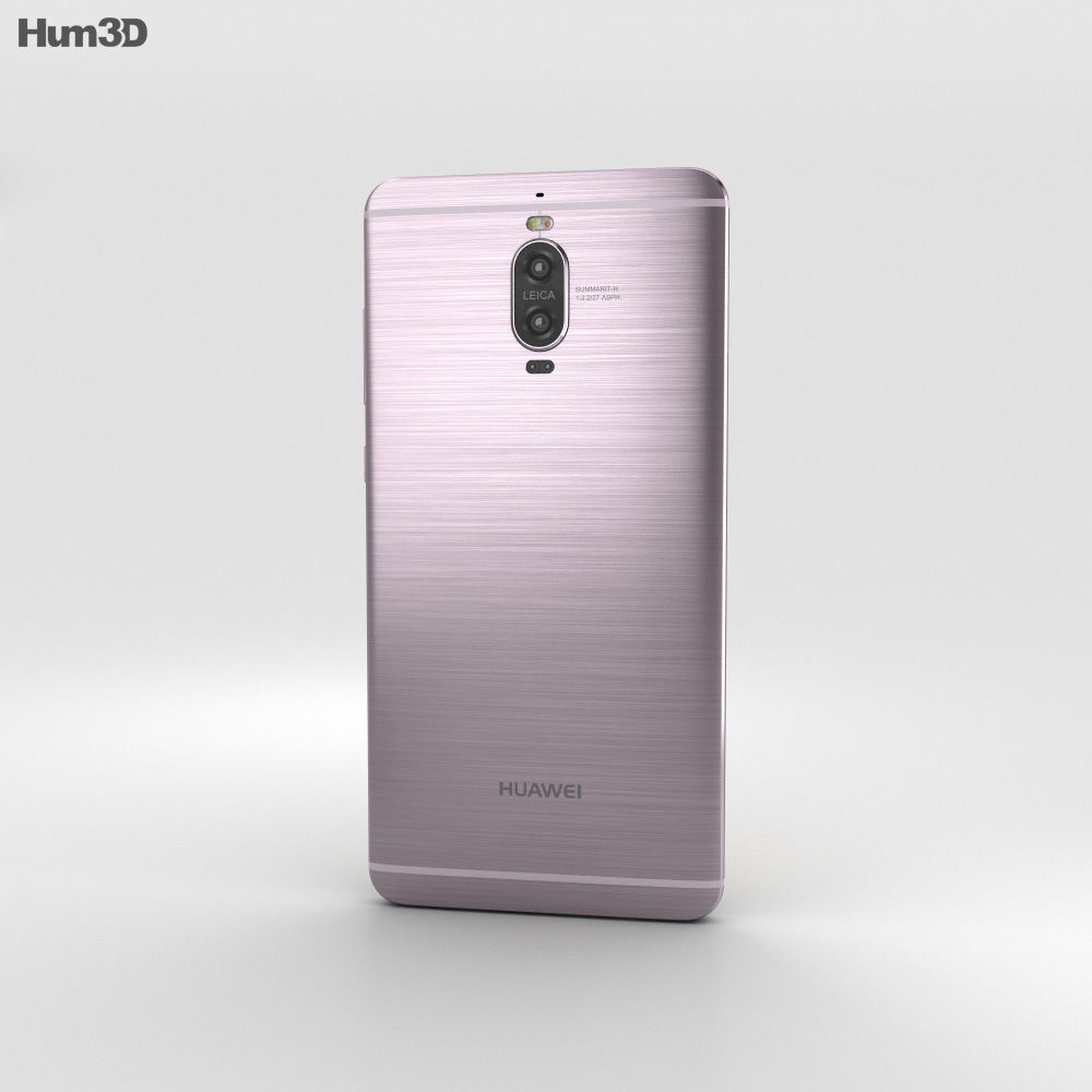 Huawei Mate 9 Pro Titanium Grey 3d model