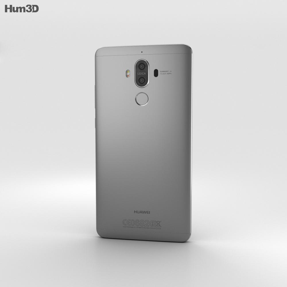 Huawei Mate 9 Space Gray 3d model