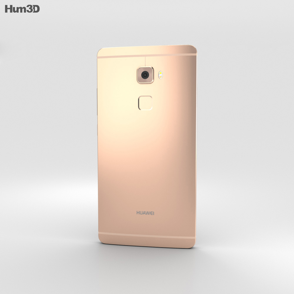 Huawei Mate S Rose Gold 3d model