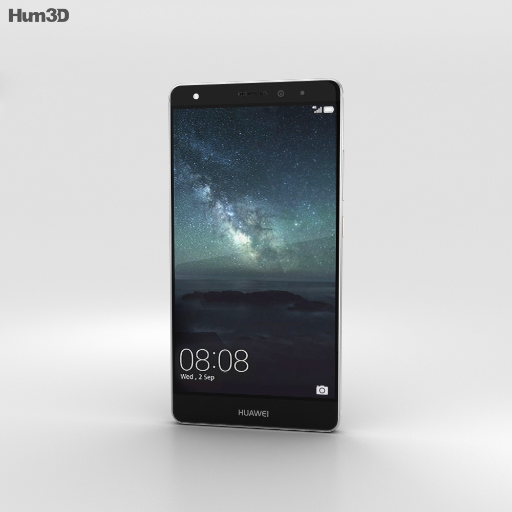 Huawei Mate S Titanium Grey 3d model
