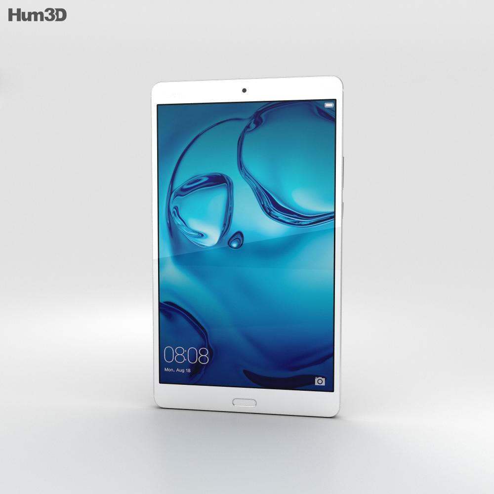 Huawei MediaPad M3 8.4-inch Silver 3d model