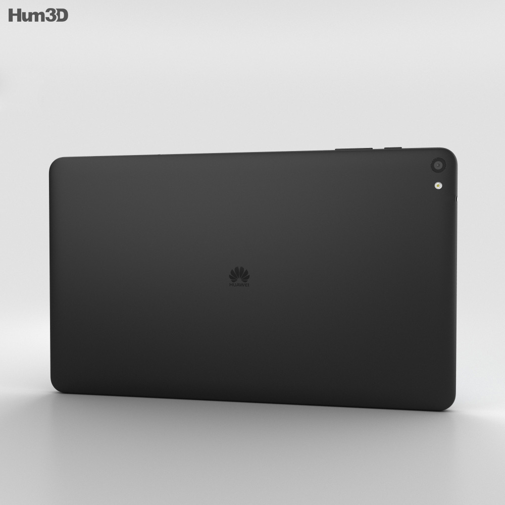 Huawei MediaPad T2 10.0 Pro Charcoal Black 3d model