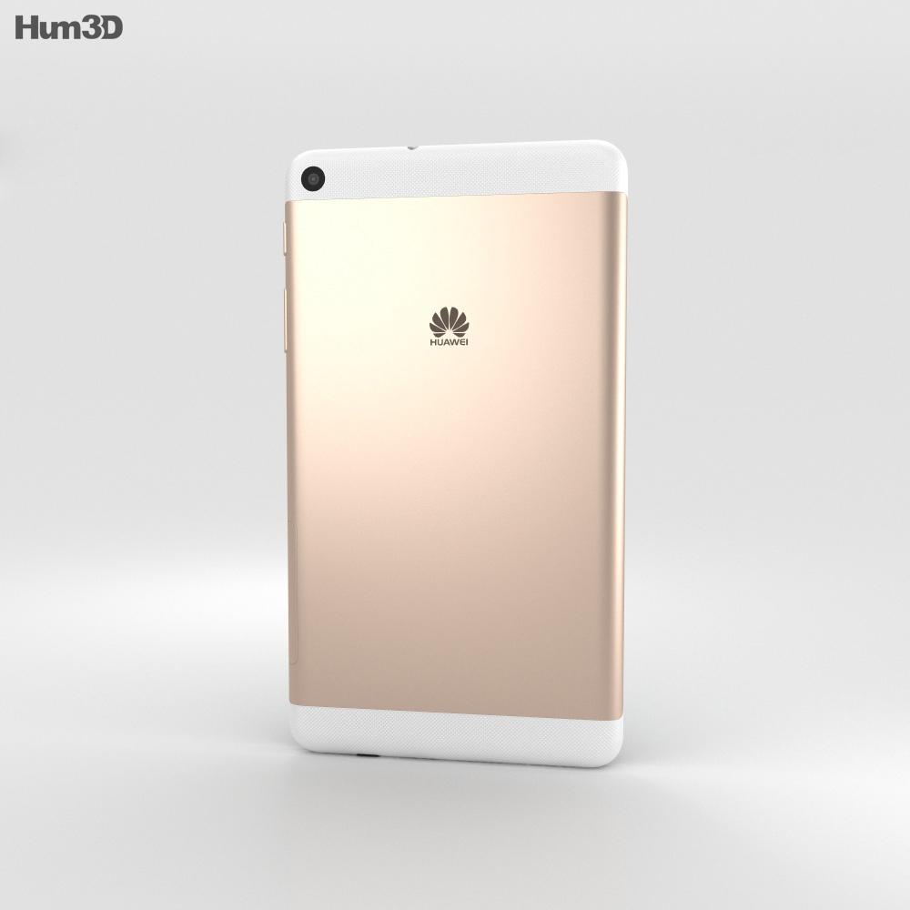 Huawei MediaPad T2 7.0 Champagne 3d model