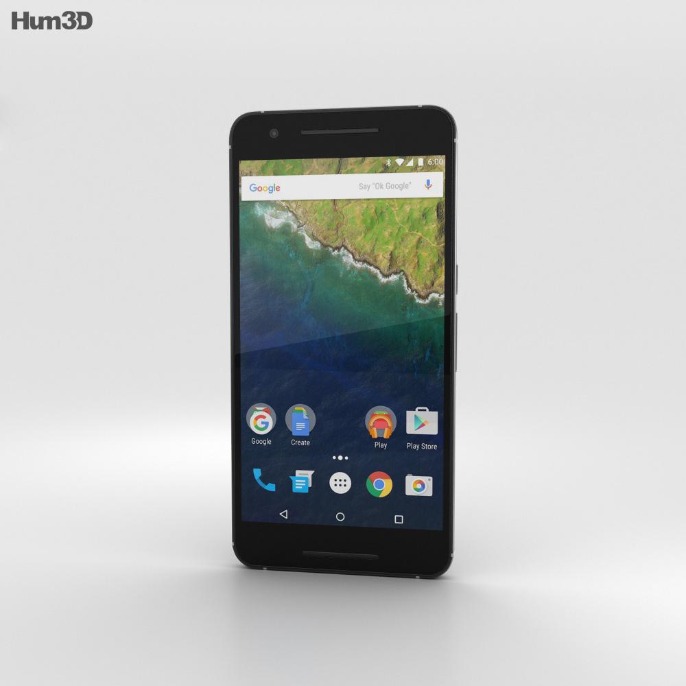 Huawei Nexus 6P Aluminium 3d model